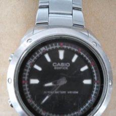 Relojes: BONITO RELOJ CASIO EDIFICE 10 YEAR BATTERY WR 100 M. 3 ALARM. Lote 288607763