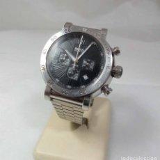 Relojes: RELOJ HUGO BOSS DE CUARZO - CAJA 4 CM - FUNCIONANDO. Lote 289812083