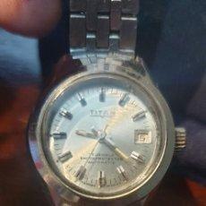 Relojes: RELOJ VINTAGE DE MUJER TITAN AUTOMATIC. Lote 293543503