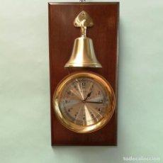 Relojes: RELOJ DE PARED CON CAMPANA. Lote 293554723