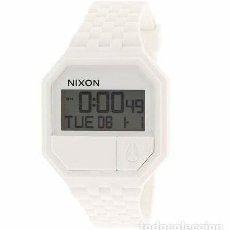 Relojes: RELOJ NIXON RUBBER RE-RUN A169100 BLANCO. Lote 293555043