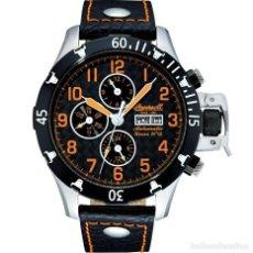 Relojes: RELOJ INGERSOLL BISON IN2803BOR NEGRO. Lote 293621713