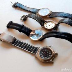 Relojes: LOTE DE RELOJES VARIOS (NECESITAN CAMBIO DE PILA Y REPONER ALGUN PASADOR U OTRO). Lote 294130183