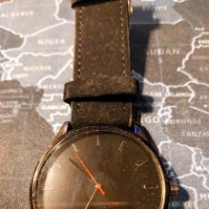 Relojes: ELEGANTE RELOJ DE PULSERA EN COLOR NEGRO A ESTRENAR. Lote 294370513