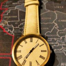 Relojes: RELOJ DE PULSERA EN COLOR BEIGE A ESTRENAR. Lote 294370738