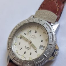 Relojes: RELOJ COLECCIÓN VINTAGE CAMEL TROPHY QUARTZ 10 ATM DATE SWISS MADE.. Lote 295496658