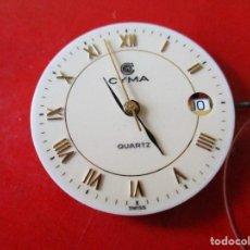 Relojes: MAQUINA DE CUARTZO MARCA CYMA. Lote 295814648
