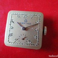 Relojes: MAQUINA DE RELOJ MARCA CERTINA. Lote 295835998