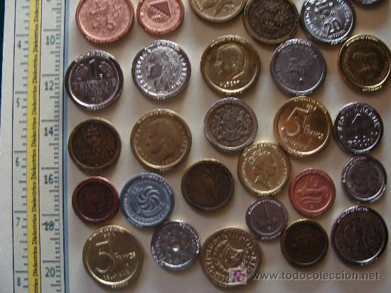 Reproducciones billetes y monedas: COLECCIÓN DE MÁS DE 40 REPRODUCCIONES DISTINTAS DE MONEDAS DE TODA EUROPA. - Foto 4 - 7116706
