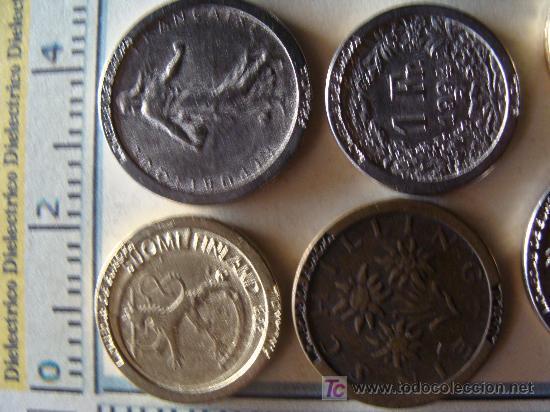Reproducciones billetes y monedas: COLECCIÓN DE MÁS DE 40 REPRODUCCIONES DISTINTAS DE MONEDAS DE TODA EUROPA. - Foto 3 - 7116706