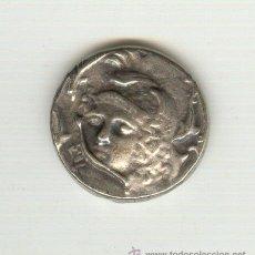 Reproducciones billetes y monedas: BONITA COPIA DE UN TETRADRACMA GRIEGO NO ES DE PLATA. Lote 21042429