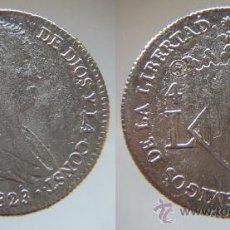 Reproducciones billetes y monedas: 4 REALES DE FERNANDO VII VALENCIA 1823.REPRODUCCION. Lote 26266615