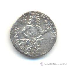 Reproducciones billetes y monedas: COPIA ANTIGUA DE UN DINAR DE STEFAN UROS II DE SERBIA (1282-1321). PESO: 2'2 GRAMOS.. Lote 30227072