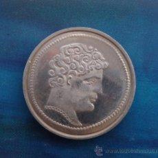 Reproducciones billetes y monedas: REPLICA MONEDA HISPANICA --- LEYENDA IBÉRICA . Lote 34510605
