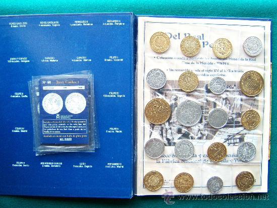 Reproducciones billetes y monedas: DEL REAL A LA PESETA-CON 40 REPRODUCCIONES DE MONEDAS ESPAÑOLAS-2002-1ª EDICION. - Foto 2 - 35232460