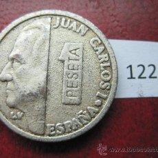 Reproduções notas e moedas: FICHA REPRODUCCION PESETA JUAN CARLOS I 1995 COLECCION LA VANGUARDIA, TOKEN, JETON. Lote 35348993