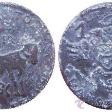 Reproducciones billetes y monedas: EMISIONES LOCALES: 1 PESETA DE MOGUER.......MUY RARA (REF 814). Lote 36523334