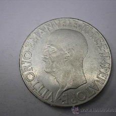 Reproducciones billetes y monedas: REPRODUCCIÓN EN PLATA DE 20 LIRAS DE 1936 R. AÑO XIV. ITALIA. Lote 38275329