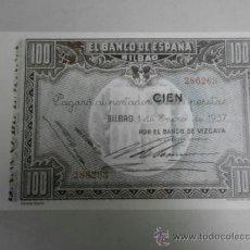 Reproducciones billetes y monedas: REPRODUCCION BILLETE DE ESPAÑA 100 PESETAS BILL-191-2. Lote 194934450
