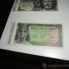 Reproducciones billetes y monedas: REPRODUCCION O FASCIMIL BANCO DE ESPAÑA CINCO PESETAS 1943. Lote 38978093