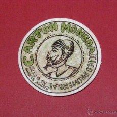 Reproducciones billetes y monedas: CARTÓN MONEDA DE USO PROVISIONAL - ALCALÁ DE HENARES - 1937 -. Lote 40404646