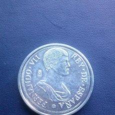 Reproducciones billetes y monedas: 5 P DE GERONA FERNANDO VII REPRODUCCION. Lote 43122624