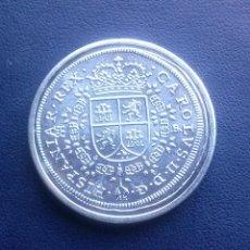Reproducciones billetes y monedas: MONEDA DE CARLOS II 8 REALES REPRODUCCION. Lote 43122672