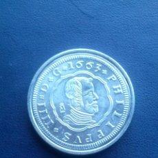 Reproducciones billetes y monedas: MONEDA DE FELIPE IIII REPRODUCCION. Lote 43122692