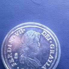 Reproducciones billetes y monedas: MONEDA DE FERNANDO VII 8 REALES REPRODUCCION. Lote 43122791