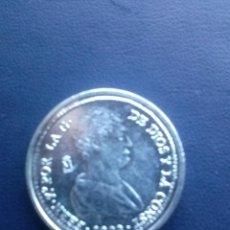 Reproducciones billetes y monedas: MONEDA DE FERNANDO VII 4 REALES REPRODUCCION. Lote 43122918