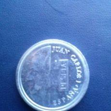 Reproducciones billetes y monedas: MONEDA DE JUAN CARLOS I 1 PESETA REPRODUCCION. Lote 43122933