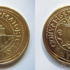 Reproduções notas e moedas: REPRODUCCIÓN 1689 . CARLOS II. 8 ESCUDOS. FNMT. 14/40 REAL A LA PESETA.. Lote 43637289