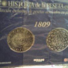 Reproducciones billetes y monedas: COLECCIÓN EXCLUSIVA DE PESETAS ACUÑADAS EN PLATA DE LEY . Lote 43775065