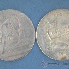 Reproducciones billetes y monedas: LEO - RATA - MONEDAS DE LA SUERTE DE TU HOROSCOPO - CHINO Y OCCIDENTAL. Lote 44959376