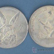 Reproducciones billetes y monedas: CAPRICORNIO - GATO - MONEDAS DE LA SUERTE DE TU HOROSCOPO - CHINO Y OCCIDENTAL. Lote 132039037