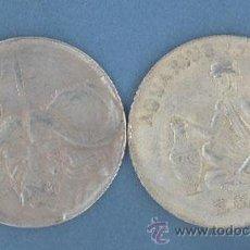 Reproducciones billetes y monedas: ACUARIO - TORO - MONEDAS DE LA SUERTE DE TU HOROSCOPO - CHINO Y OCCIDENTAL. Lote 44959388