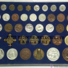 Reproducciones billetes y monedas: EKL REPRODUCCIÓN MONEDAS Y MEDALLAS HISTÓRICAS DE GALICIA.. Lote 141318780