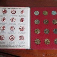 Reproducciones billetes y monedas: 12 REPRODUCCIONES ANTIGUAS MONEDAS MUNDIALES LEAN DESCRIPCION. Lote 46394723