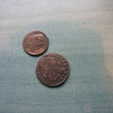 Reproducciones billetes y monedas: REPRODUCCIÓN DE DOS MONEDAS DE CARLOS III. Lote 46953855