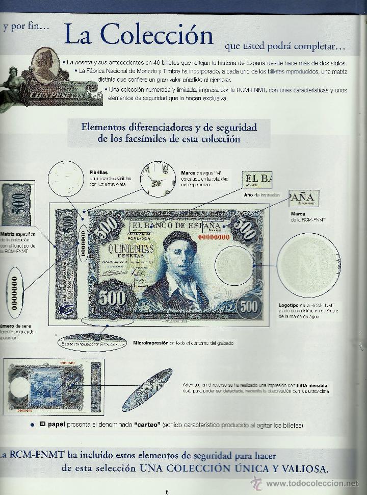 Reproducciones billetes y monedas: Descripcion - Foto 3 - 47006179