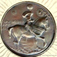 Reproducciones billetes y monedas: MEDALLA REALIZADA POR EL PINTOR Y MEDALLISTA ITALIANO - PISANELLO (1395-1455), REPRODUCCION ANTIGUA. Lote 47338846