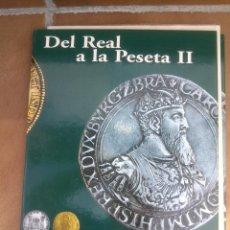 Reproducciones billetes y monedas: COLECCIÓN DEL REAL A LA PESETA, ÁLBUM II, DE LA F.N.M.T. 40 PIEZAS BAÑADAS DE ORO Y PLATA PUROS,. Lote 48637260