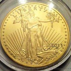 Reproducciones billetes y monedas: MONEDA CONMEMORATIVA LIBERTY ESTADOS UNIDOS RÉPLICA.. Lote 48676510