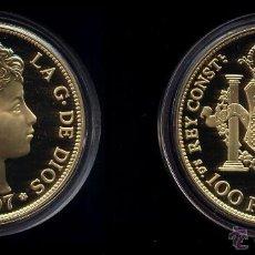 Reproducciones billetes y monedas: 100 PESETAS ALFONSO XIII 1897 PROOF. Lote 130484554