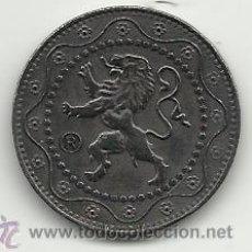 Reproducciones billetes y monedas: BELGICA 1916 25 CENTIMOS DE LA OCUPACION ALEMANA DE BELGICA PRIMERA GUERRA MUNDIAL REPRODUCCION. Lote 49983454