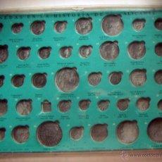 Reproduções notas e moedas: ESTUCHE PARA LAS MONEDAS EN LA HISTORIA DE ALICANTE. Lote 51374863