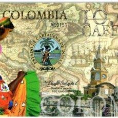 Reproducciones billetes y monedas: 10 000 CAFETEROS CLUB DE LA MONEDA TEST POLYMER UNC. Lote 52460864