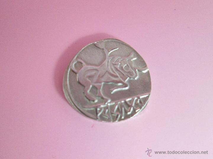 Reproducciones billetes y monedas: MONEDA COLECCIÓN(reproducción)-PLATA(¿BAÑO DE PLATA?)-ARAGÓN-SIN DATAR-3,74-17 MM.D--. - Foto 4 - 39512938