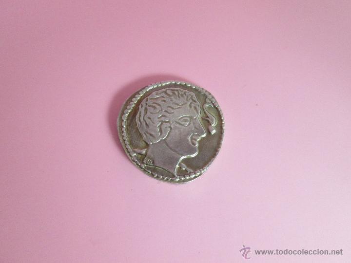 Reproducciones billetes y monedas: MONEDA COLECCIÓN(reproducción)-PLATA(¿BAÑO DE PLATA?)-ARAGÓN-SIN DATAR-3,74-17 MM.D--. - Foto 5 - 39512938