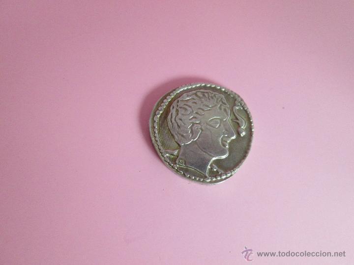 Reproducciones billetes y monedas: MONEDA COLECCIÓN(reproducción)-PLATA(¿BAÑO DE PLATA?)-ARAGÓN-SIN DATAR-3,74-17 MM.D--. - Foto 6 - 39512938